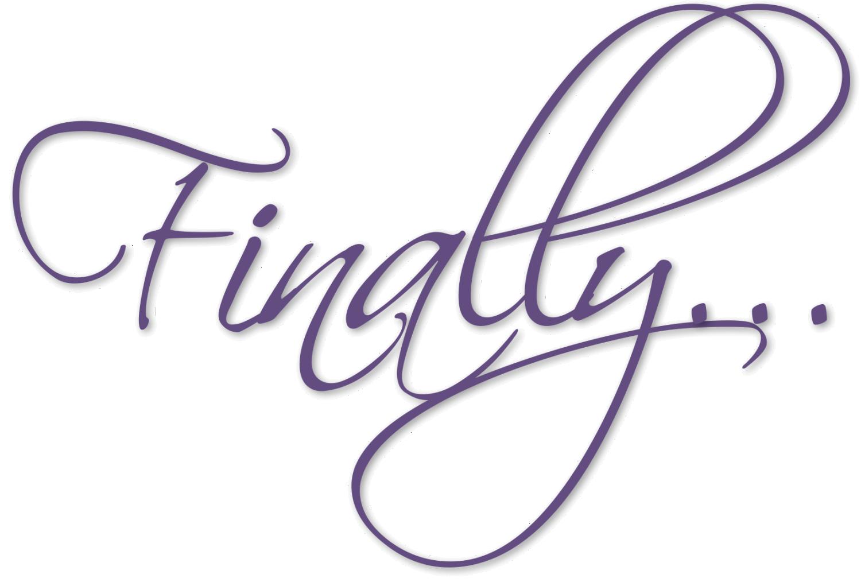 Finally logo