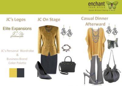 JC Nix Wardrobe Inspirations Spotlight Collection B EEX